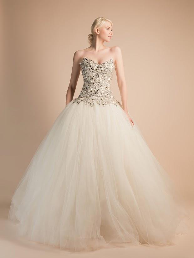 Robe de mariée Adélaïde princesse avec strass, robe de mariée bustier strass, robe de mariée bijou