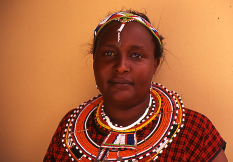 Photo: Jennifer Koinante, Masai from Kenya Tanzania (OHCHR Indigenous Fellowship Programme 2004). May 2007. Credit: Anouk Garrigue