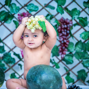gungun by Shashi Patel - Babies & Children Babies ( shashiclicks, love, graps, cute, photography )
