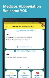 Download Medicos Abbreviation :Medical Short Form Offline For PC Windows and Mac apk screenshot 6