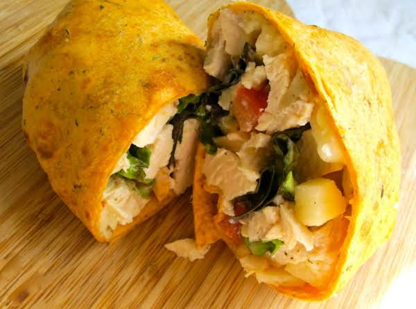 Delicious Chicken And Apple Wrap