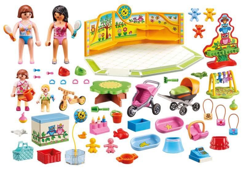 Contenido real de Playmobil® 9079 Tienda para Bebés