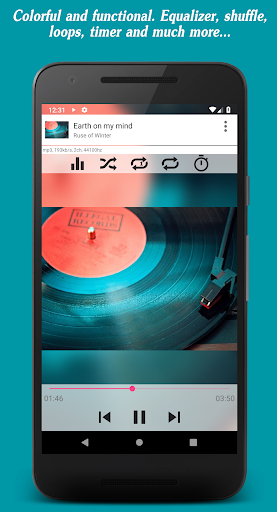 Invenio Music Player + Music Editor & Equalizer screenshot 2