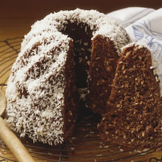 Chocolate and Coconut Funnel Cake Recipe