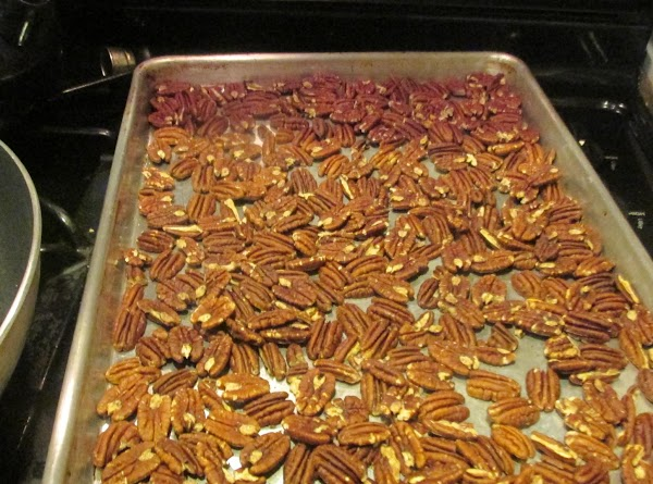 TOASTING THE PECANS REALLY DOES MAKE A DIFFERENCE AND BRINGS OUT THE FLAVORS IN...