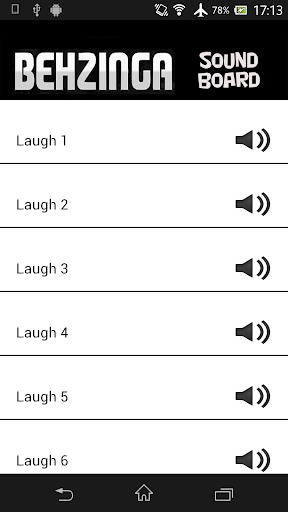 Behzinga Laugh Soundboard