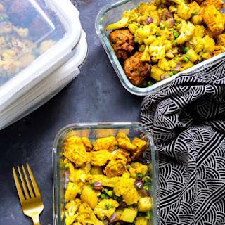 Chicken Tandoori Meal Prep Bowls Recipe