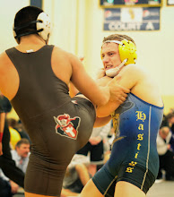 Photo: 145 Jake Anderson (Hastings) over Nicholas Accetta (Bound Brook) Dec 3-2. Photo by Jeff Beshey.