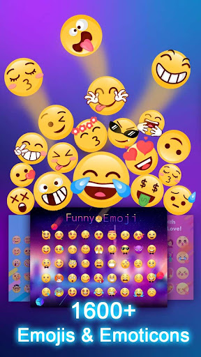 Kika Keyboard - Emoji Keyboard, Emoticon, GIF  screenshots 1