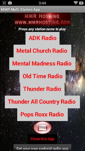MMR Multi-Station App