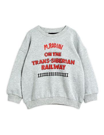 Mini Rodini Trans-Siberian Sweatshirt Grå
