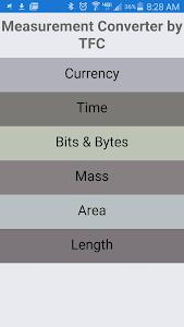 Measurement Converter by TFC screenshot 0