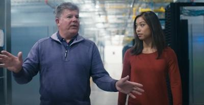 Vídeo com Joe Kava, vice-presidente de data centers do Google