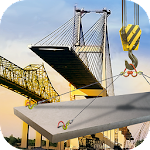 Bridge Building: Construction Machines Simulator Icon