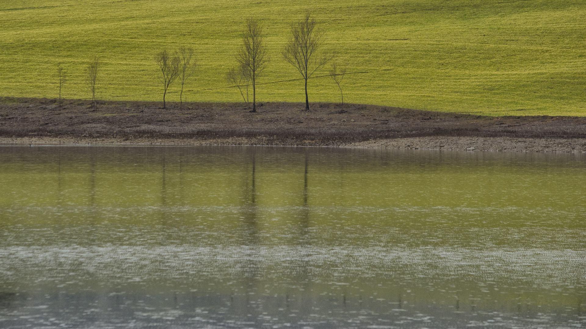 Pioggia sul lago di mirko_borselli