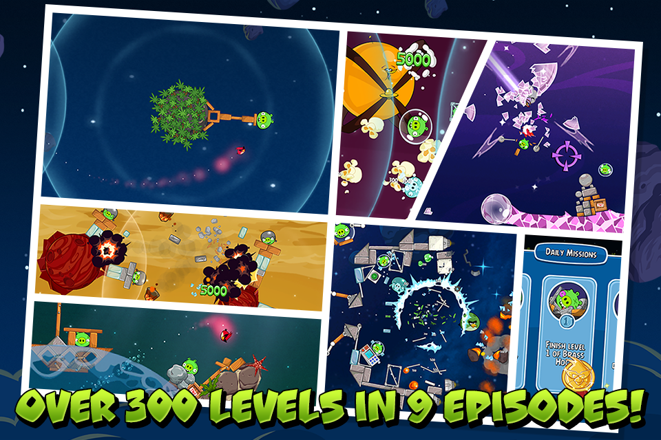 Angry Birds Space Premium screenshot #5