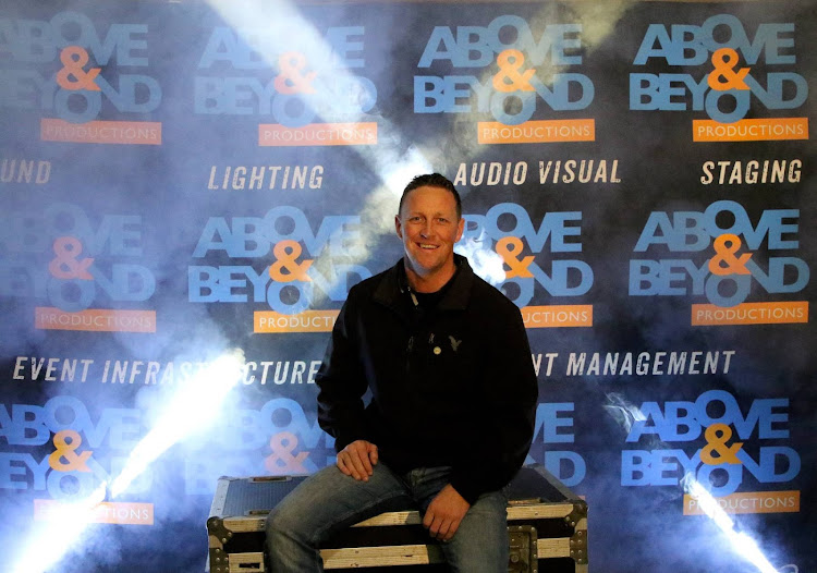 Above & Beyond Productions owner David Leverington is driven by passion for what he does