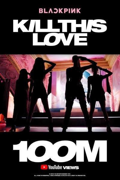 'Kill This Love' BLACKPINK memecahkan 100 juta tampilan dalam waktu singkat.