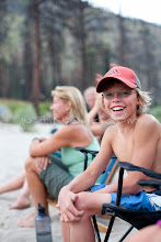 Photo: Portrait of young boy on a raft trip on the Main Salmon River, ID