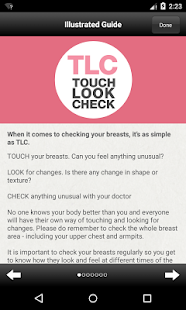 iBreastCheck- screenshot thumbnail