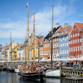 Copenhagen by Marcin Frąckiewicz - City,  Street & Park  Historic Districts