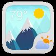 Google Style Theme GOWeatherEX icon