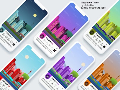 Illustration Theme for KLWP 2020.Apr.11.14 Paid Latest APK Free Download 5