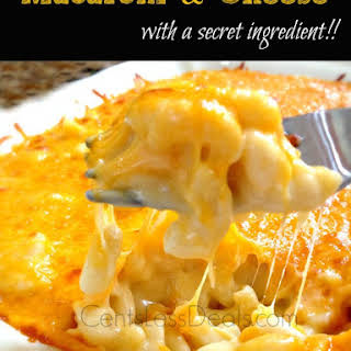 Macaroni & Cheese with a secret ingredient!.