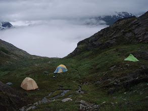 Photo: 25 July 2010 camp