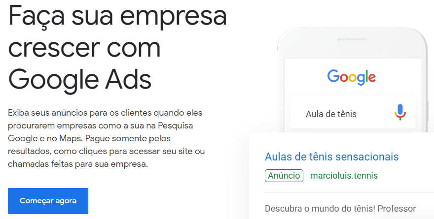 configurar google ads para usar na estratégia de marketing digital