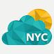 ニューヨークの天気予報、旅行者のためのガイド。 - Androidアプリ