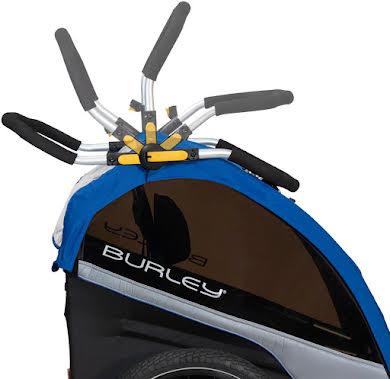 Burley D'Lite Single Child Trailer: Old School Blue alternate image 2
