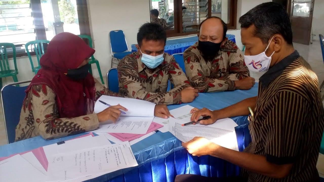 Dongkrak PAD, Bapenda Kabupaten Madiun  Gencar Bina dan Evaluasi PBBP2 Di Desa