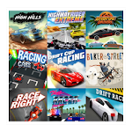 Online Multi Racing Games 100+ cars and Bikes Game icon