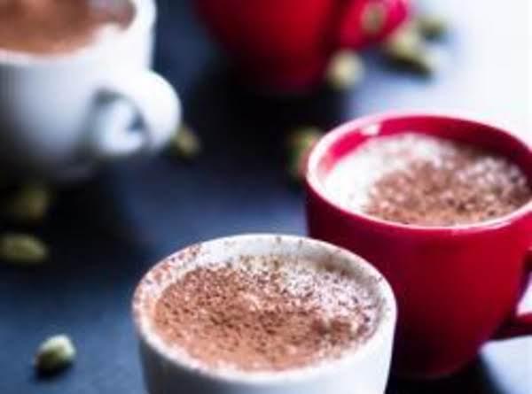White Chocolate Cardamom Mousse