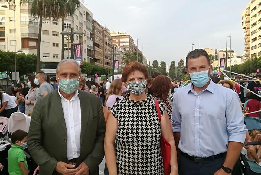 Foto en la cuenta de Twitter de Vox Almería.