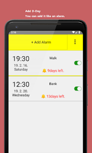 App Month Alarm APK for Windows Phone