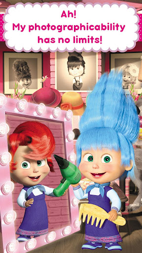 Masha and the Bear: Hair Salon and MakeUp Games 1.1.8 screenshots 7