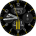 GALAXY 2.1 color changer watchface for WatchMaker icon