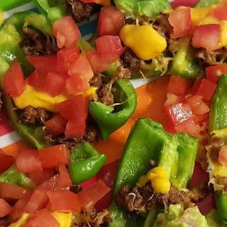 Green Pepper Nachos