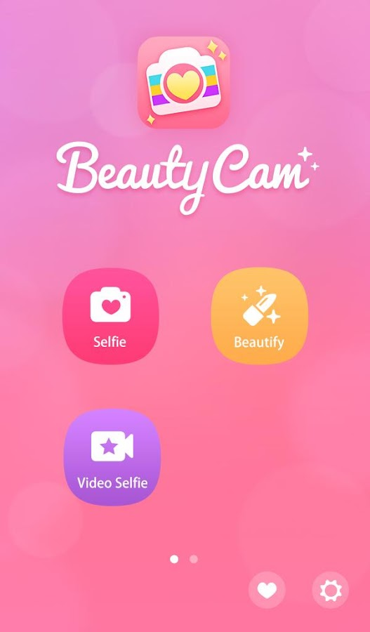 Screenshots of Beauty Camera for Android