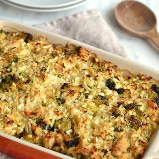 Broccoli & Chicken Casserole.