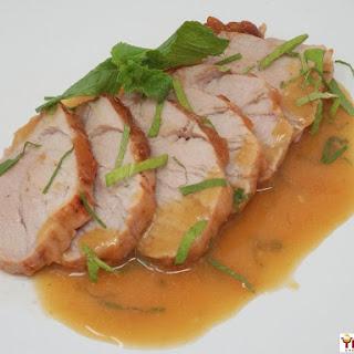 Mojito Glazed Pork Tenderloin Recipe