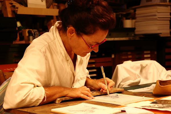 Produrre una serigrafia come nel '500 di Andrea F