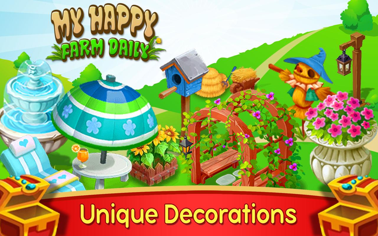 My Happy Farm Daily- screenshot