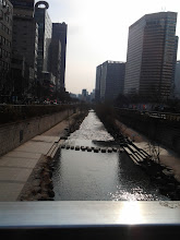 Photo: Cheonggyecheon Stream during the day!