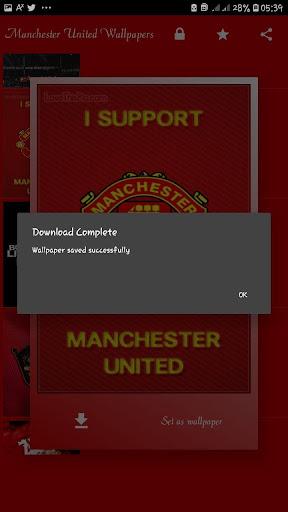 Manchester United HD wallpapers (OFFLINE) screenshot 6