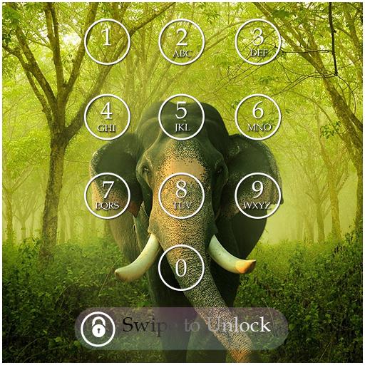Elephant Keypad Screen Lock