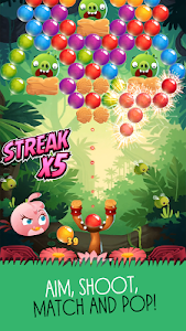 Angry Birds POP Bubble Shooter v2.22.2 Mod Gold + Live + Boost