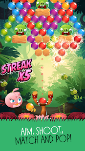 Angry Birds POP Bubble Shooter Screenshot 3